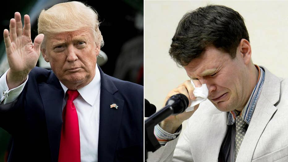 Questions over how Warmbier's death may shape Trump policy