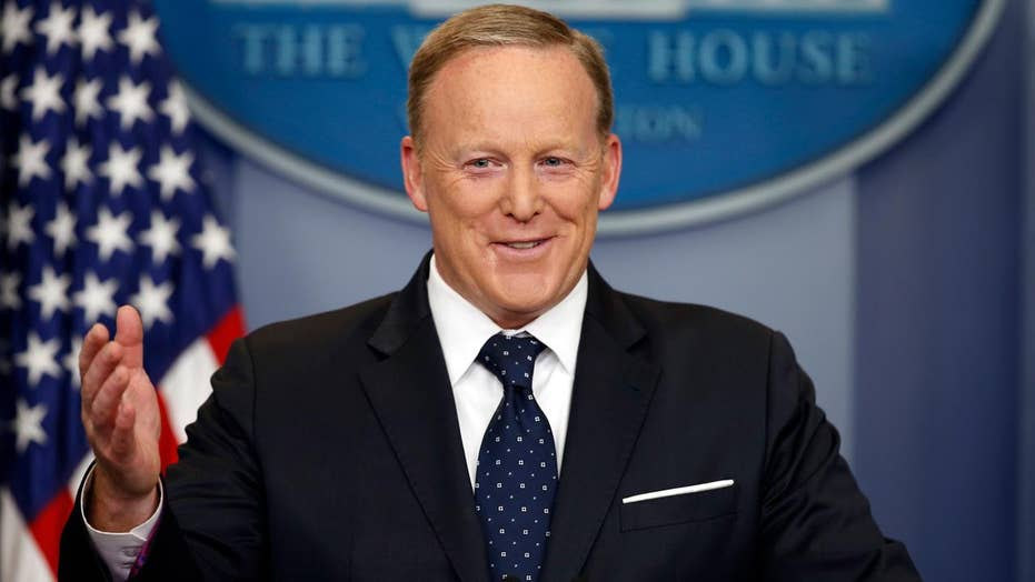 Spicer questioned on future, accessibility in press briefing