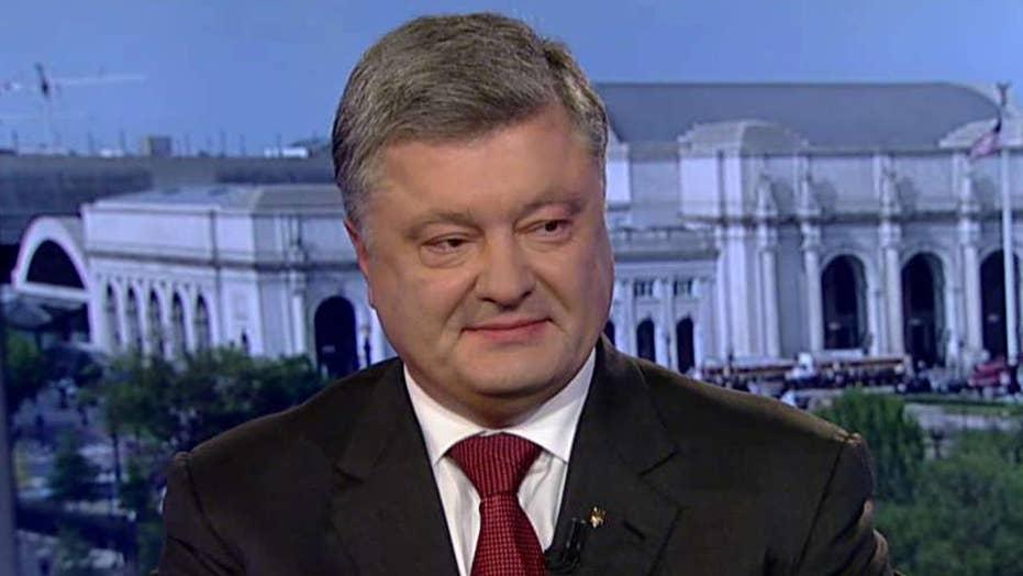 Petro Poroshenko on Ukraine-US relations, Russia tensions