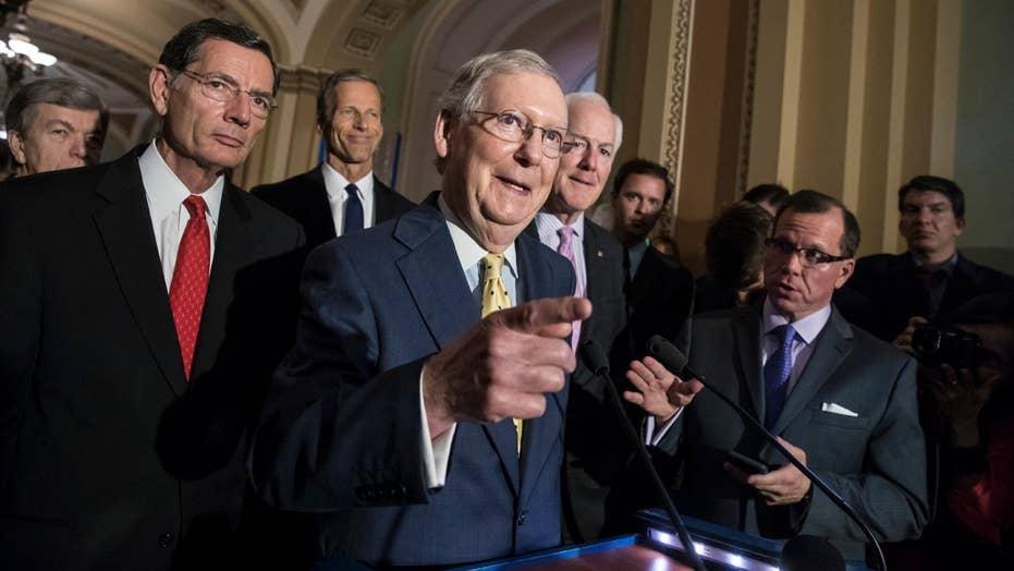 GOP senators feeling pressure to get health care reform done