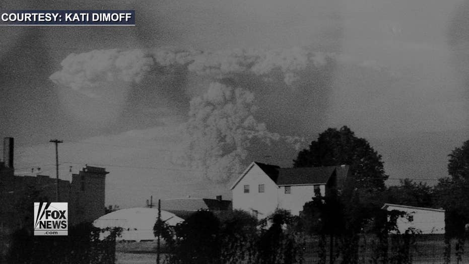 Mount St. Helens eruption photos found in Goodwill camera