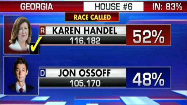 Karen Handel wins Georgia special election