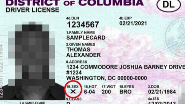 Washington, DC to offer gender-neutral licenses