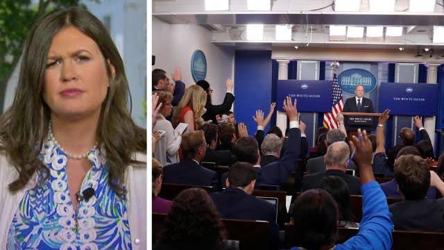 Sarah Huckabee Sanders talks future of WH press briefings