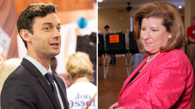 Who was the Georgia special election a referendum on?