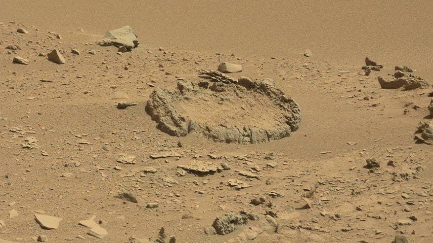 Strange 'stone circle' spotted on Mars | Fox News