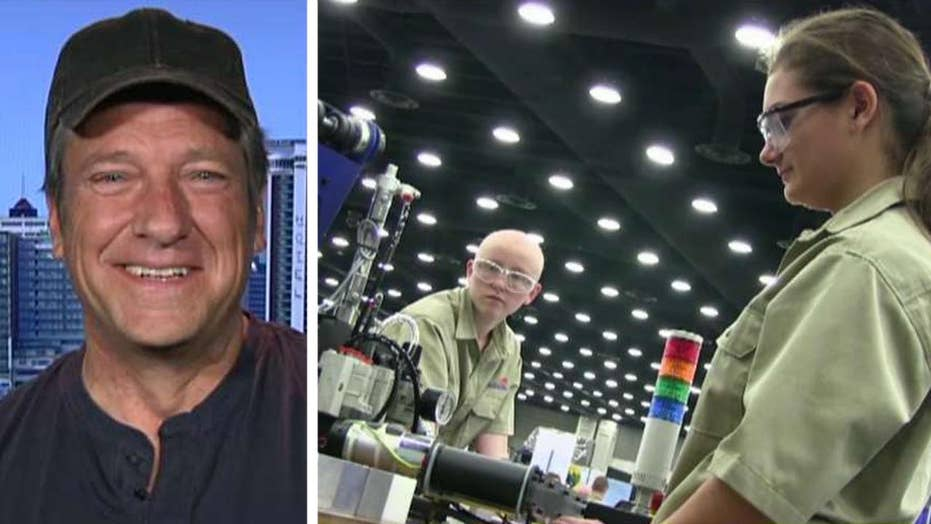 Mike Rowe talks importance of skill trade workers