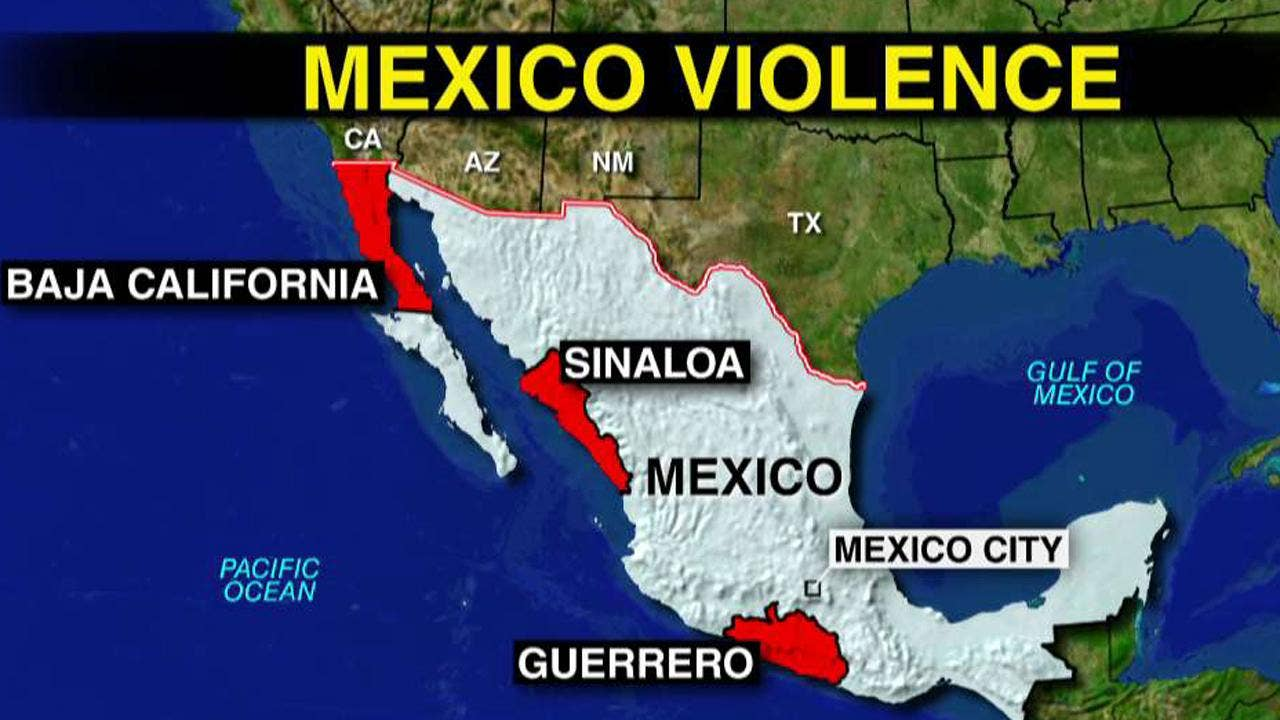 Mexico Drug Cartel Violence Hits Tourist Hotspots Of Cancun And Los