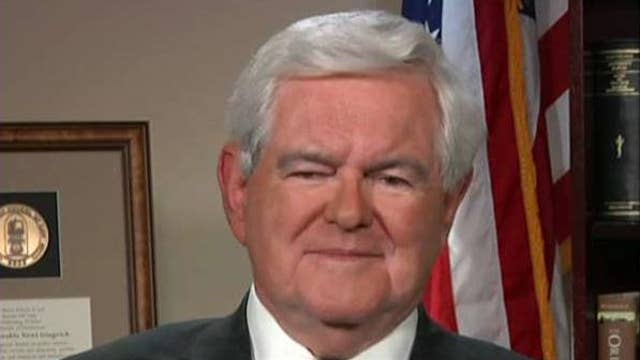 Gingrich on meeting with House GOP, calls to exclude CNN