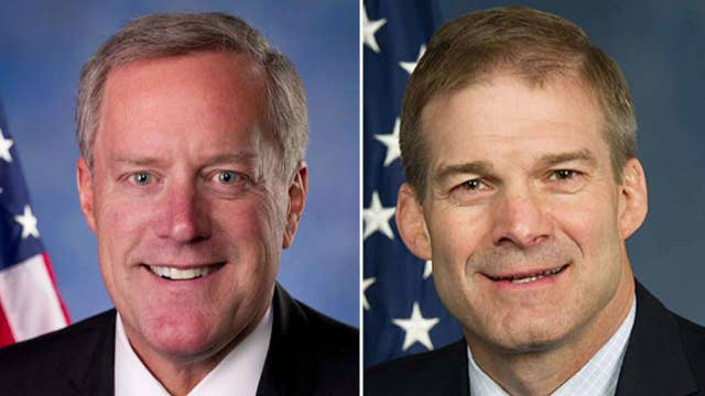 Reps. Meadows and Jordan favor forgoing August recess