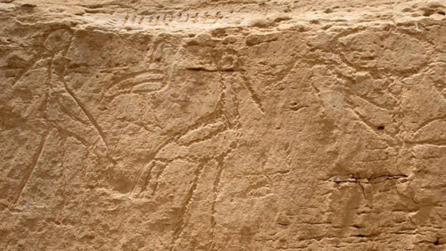 Yale archaeologists uncover earliest hieroglyphs in Egypt
