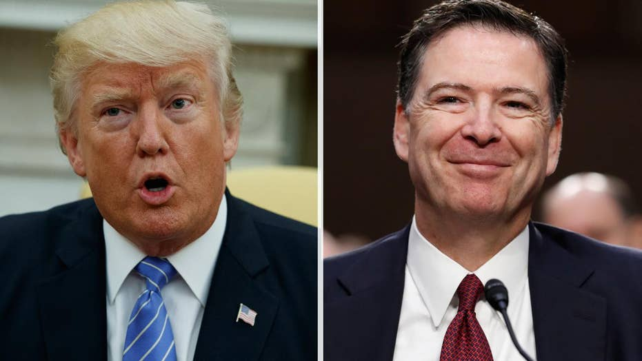 Trump tweets he does not have tapes of Comey conversations