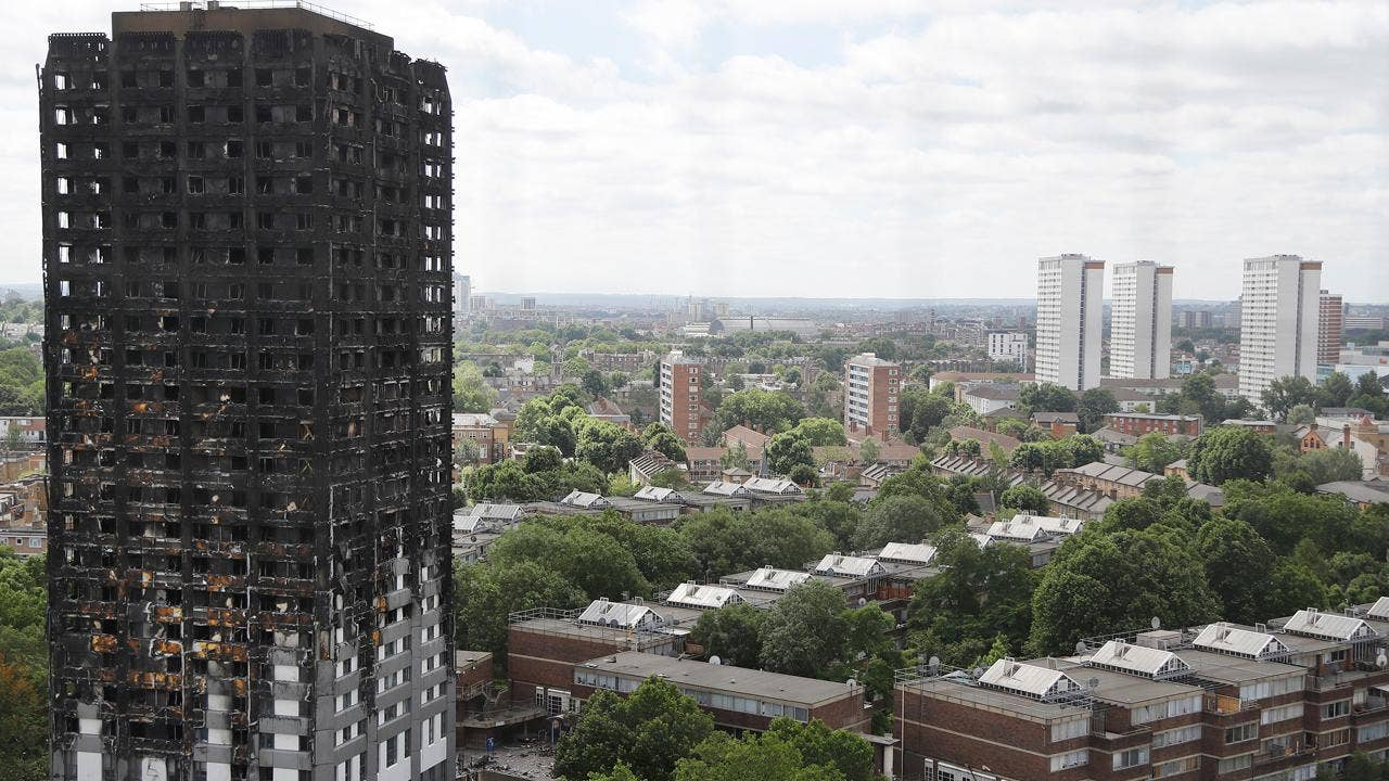 UK finds 34 high-rise apartment buildings with unsafe siding