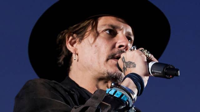 Johnny Depp jokes about assassinating POTUS