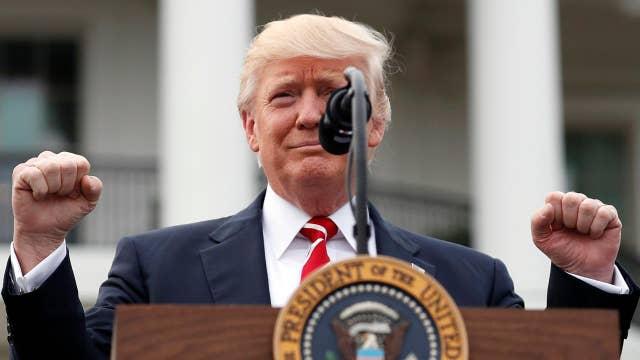 Trump confident health care bill will pass