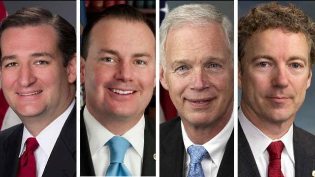 4 Republican senators withhold support on the health bill