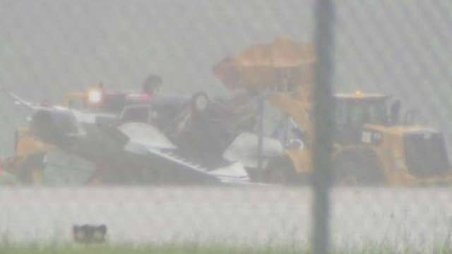 Thunderbird involved in incident while practicing air show