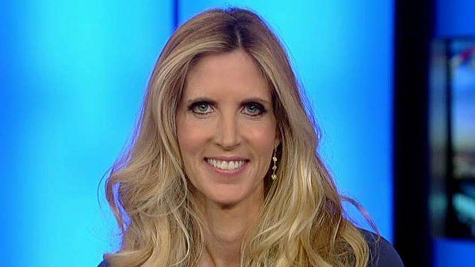 Ann Coulter speaks out about violent rhetoric from the left