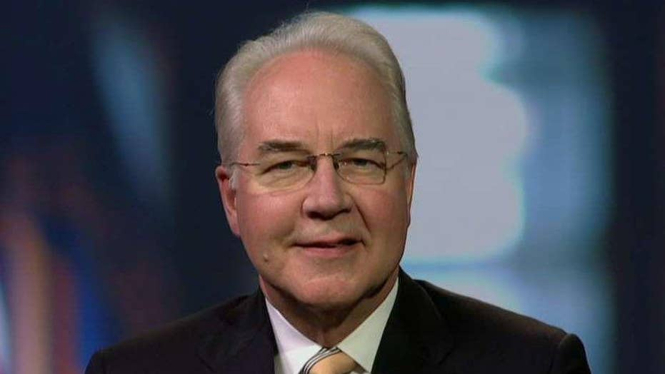 Sec. Price: Health care bill a move in the right direction