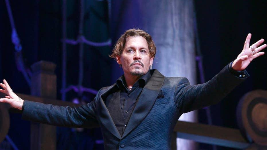 Johnny Depp makes joke about killing President Trump