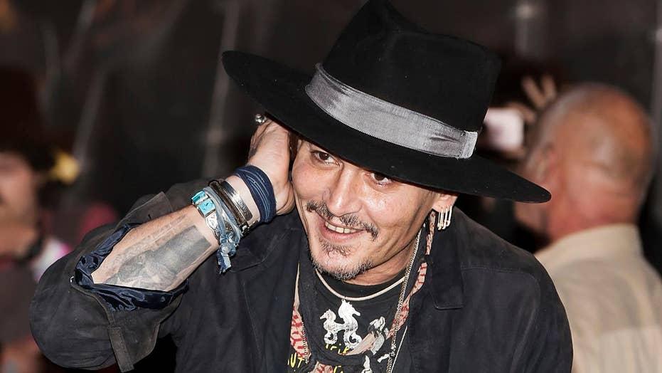 Johnny Depp jokes: Assassinate President Trump