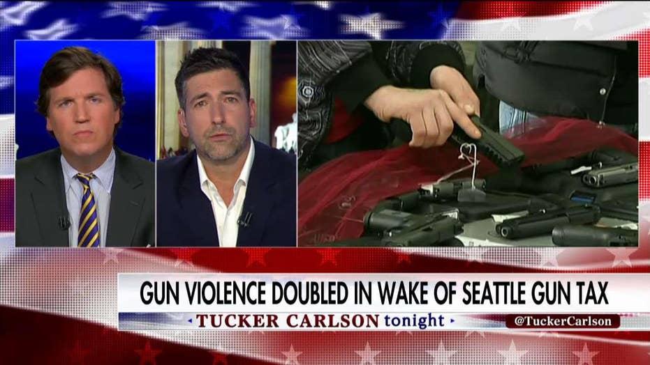 Tucker vs. anti-gun activist