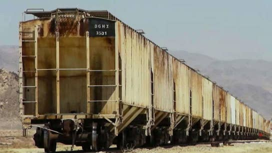Buried boxcars add unique living space to Arizona property