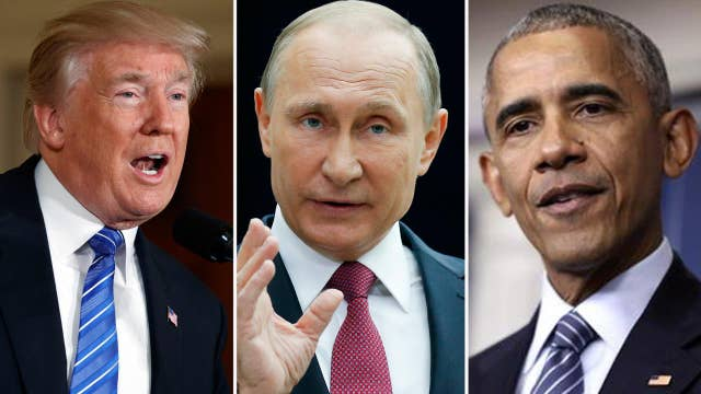Trump criticizes Obama's response to Russian hacking