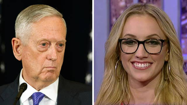 Kat Timpf spends the day speaking only in Mattis quotes