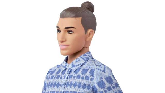 Mattel release new Ken doll complete with 'man bun'