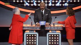 Fox411: Steve Harvey's wife has an interesting answer on 'Celebrity Family Feud'