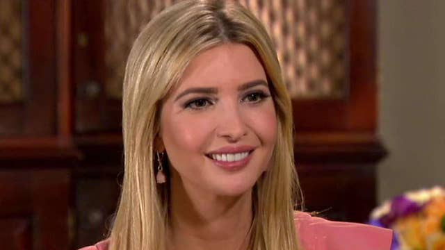 Ivanka Trump discusses her role in the White House