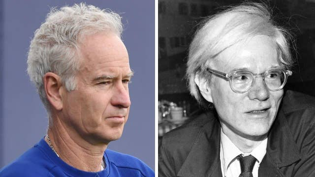 John McEnroe: Warhol ruined my sex life