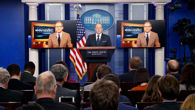 White House scaling back televised press briefings