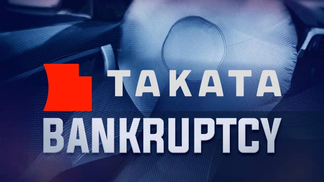 A deflating day for airbag maker Takata
