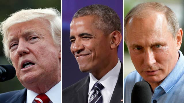 Trump blasts Obama over Russian cyberattacks on election