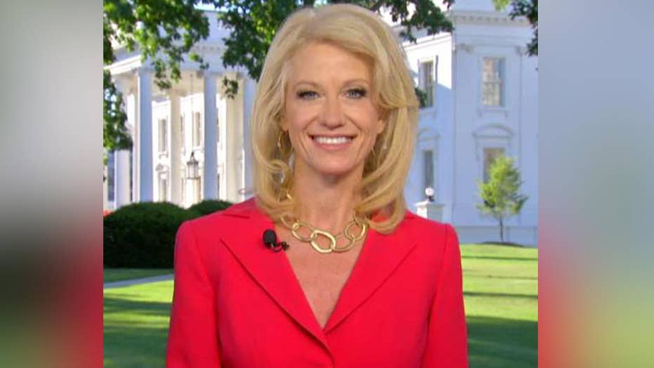 Conway talks possible SCOTUS opening, health care battle