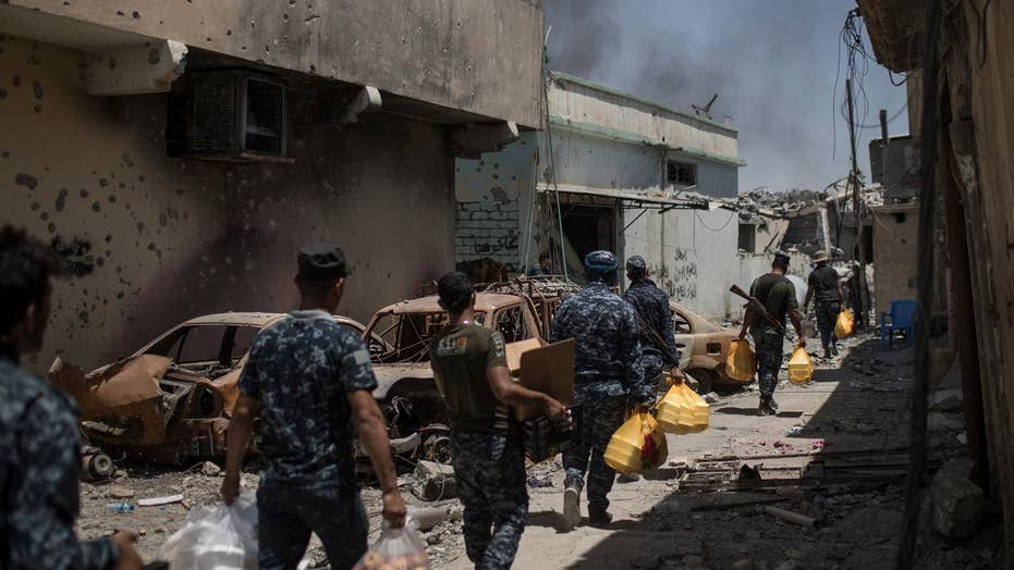 ISIS sleeper cells attack as battle for Mosul nears end