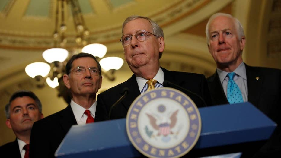 Can GOP Senate leaders flip health care bill holdouts?