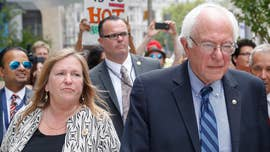 Sen. Bernie Sanders' claims that an ongoing FBI probe of his wife is based on partisan politics don't square with the fact that it began under President Obama and appears to closely track Democratic opposition research revealed in the hacked emails of the Hillary Clinton campaign.
