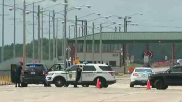 Possible active shooter locks down Alabama military post