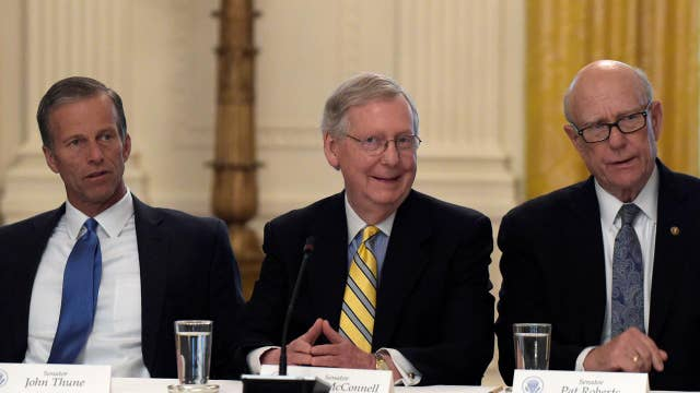 Senate GOP goes back to the drawing board after vote delay