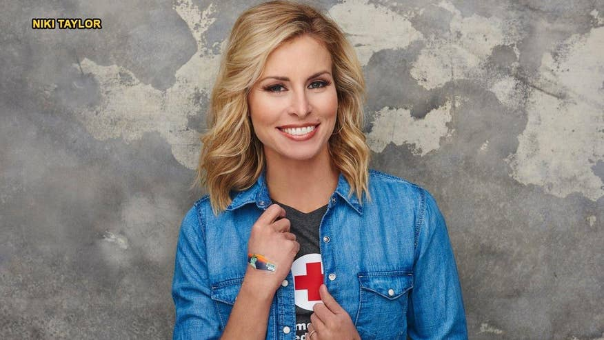 Fox411: Niki Taylor thanks the over 300 blood donors who helped save her life and says she battled to survive for the sake of her sons