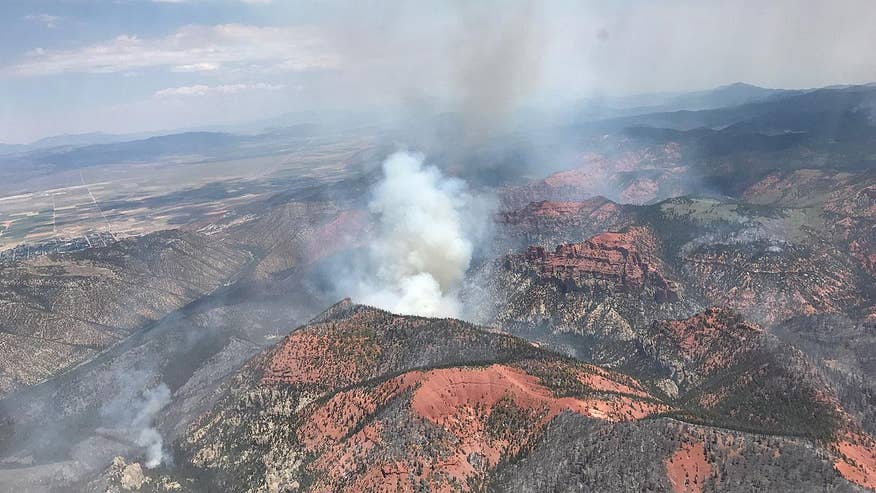 State officials try to manage Brian Head fire