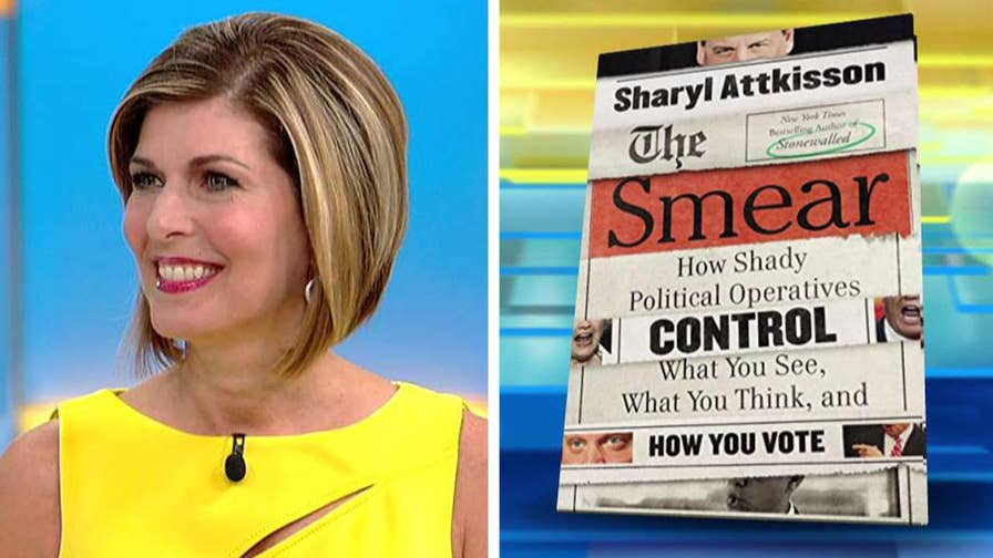 On 'Fox & Friends,' investigative journalist pulls back the curtain on the shady world of opposition research