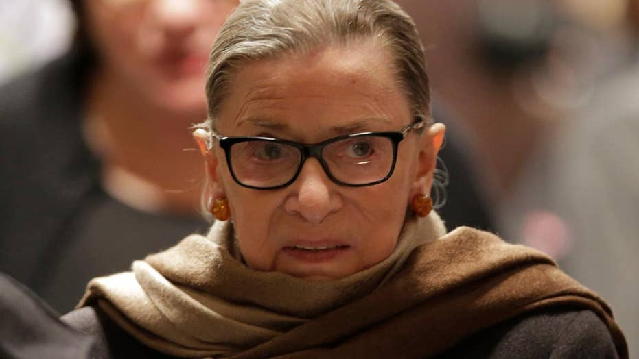 GOP lawmakers call for Ginsburg's recusal in travel ban case
