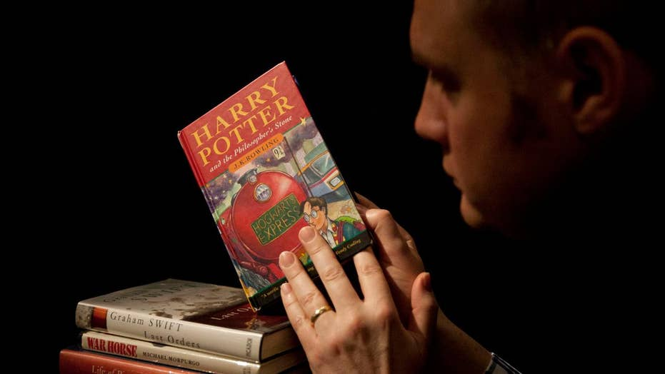 Fans celebrate 'Harry Potter' at 20