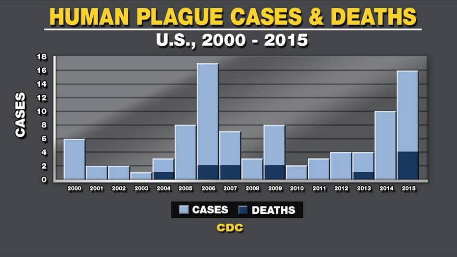 Two plague cases found in New Mexico