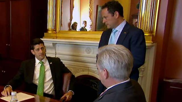 Brian Kilmeade goes inside a House GOP leadership meeting