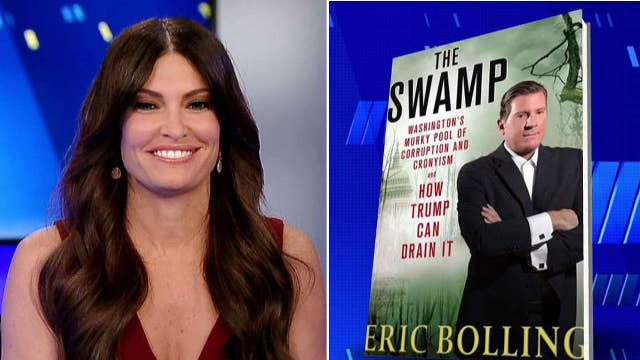 Kimberly congratulates Eric Bolling on 'The Swamp'